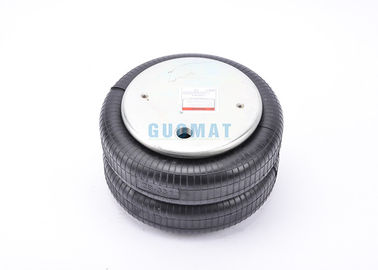 China 2B7444 Rubber Industrial Air Spring  W01-358-7444 Double Air Bellows For Gas Hole / Air Inlet 1/4nptf 3/4nptf supplier