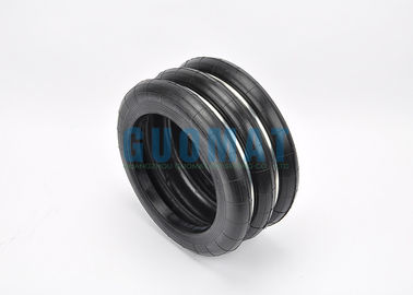 China Double Pcs Steel Girdle Ring Industrial Air Springs / Air Bags 3 Convolution supplier