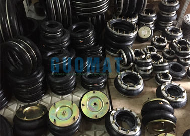 China Firestone Industrial Air Spring W01-M58-6974 Style 119 Bead Rings Ribbed Neck Aluminum supplier