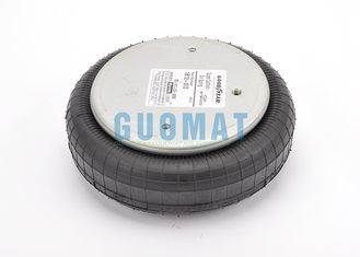 China Goodyear 1B12-313 Single Industrial Suspension Air Spring Rubber / Stainless Steel supplier