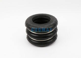 China Rubber and Stainless Steel Yokohama Air Spring 3 Convolution 0.88 Mpa supplier