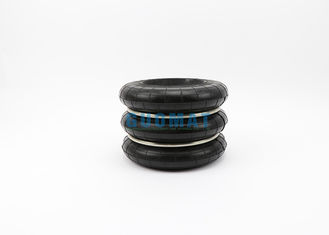 China Power Press Rubber Triple Convoluted Air Spring Vibration Frequency 2.5 Hz supplier