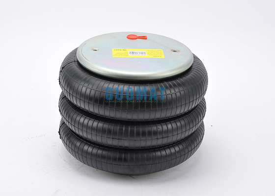 China W01-358-8014 Air Ride Springs By Firestone / Triple Convoluted Air Bag For Ridewell 1003588014C supplier