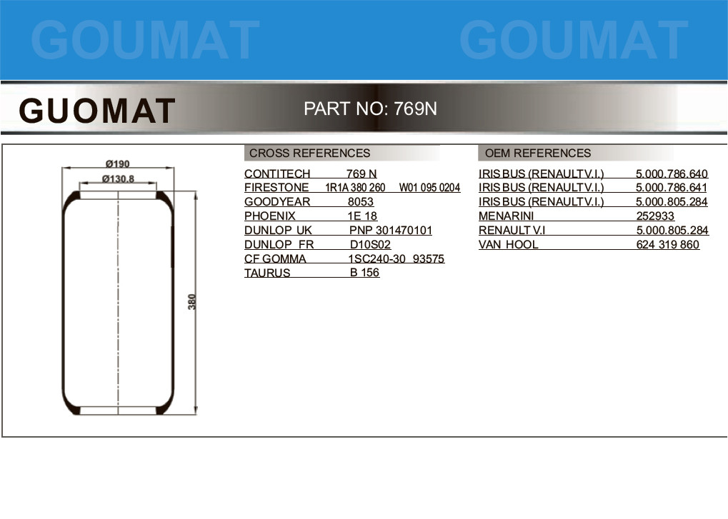 Pneumatic Suspensions Contitech Air