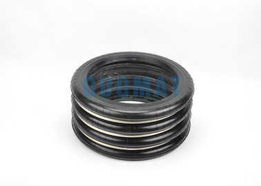 China YOKOHAMA S-350-4 Rubber Air Spring Cushion 350-4 With Triple Steel Girdle Ring factory