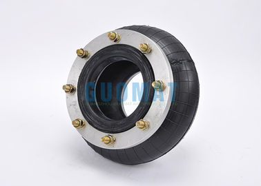 China Rubber Industrial Air Spring Air Isolator Convoluted With Flange Ring 260130H-1 factory