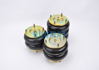 "China W01-R58-4056 8""x3 Steel Industrial Air Spring Bags Pressure Ability 0.2 - 0.8 MPa factory"