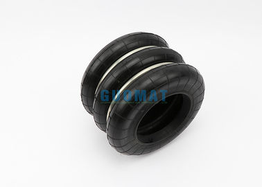 China Rubber And Stainless Steel Yokohama Air Spring Refer To GUOMAT Convolution 0.88 Mpa factory