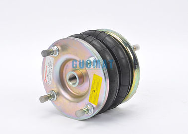 "China 6X2 / 6""X2 Norgren Air Bellows Industrial Air Spring With Stamping Flange And Plate factory"