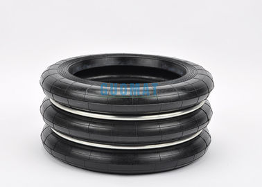 China S-350-3 Yokohama Rubber Air Spring Cushion 350-3 Three Convoluted Rubber Bellows factory