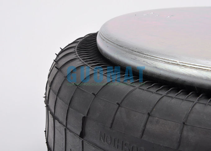 Goodyear 1B12-313 Single Industrial Suspension Air Spring Rubber / Stainless Steel