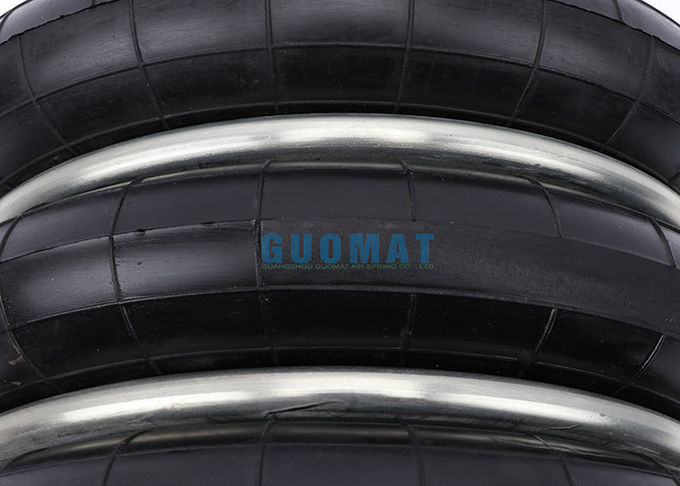 Rubber and Stainless Steel Yokohama Air Spring 3 Convolution 0.88 Mpa