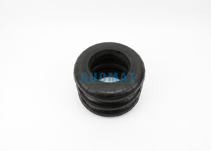 Power Press Rubber Triple Convoluted Air Spring Vibration Frequency 2.5 Hz