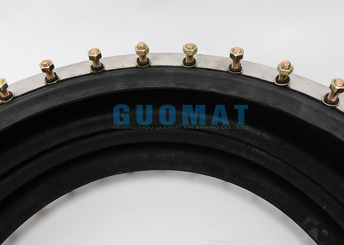 Firestone W01 M58 6984 Industrial Air Spring GUOMAT 3B6984 At 0.7 Mpa Max Dia 715mm